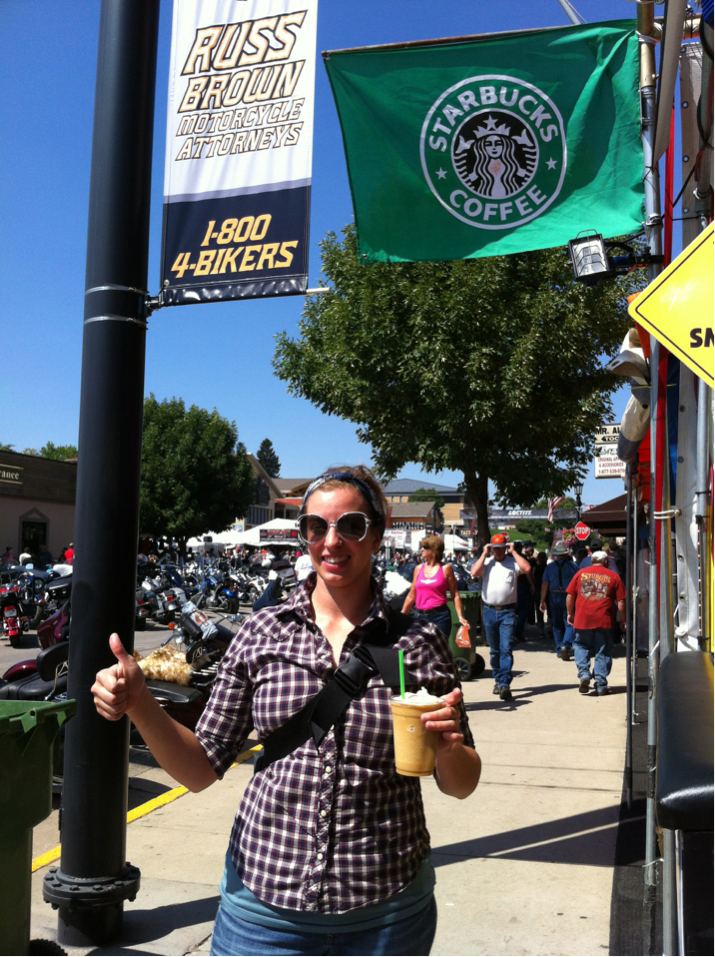 Starbucks Around the World: Sturgis, SD