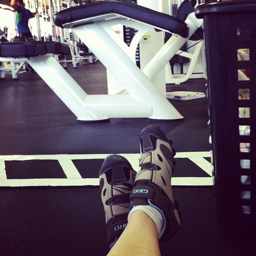 I'll Never Spin Without Cycling Shoes Again (and how to wing it at thegym)