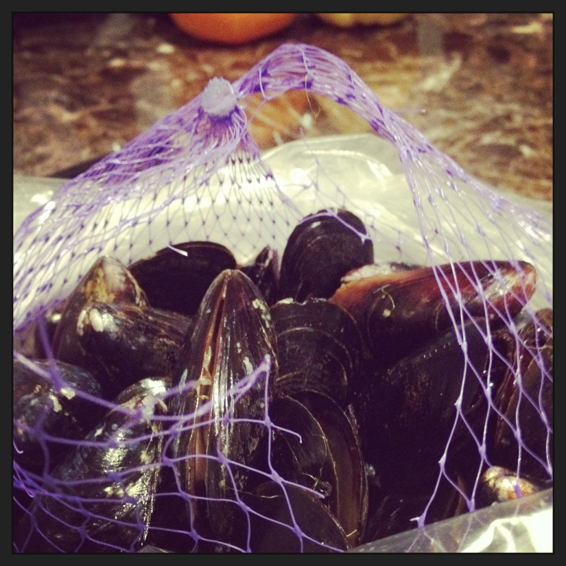 Mussels are Delicious! and Easy!