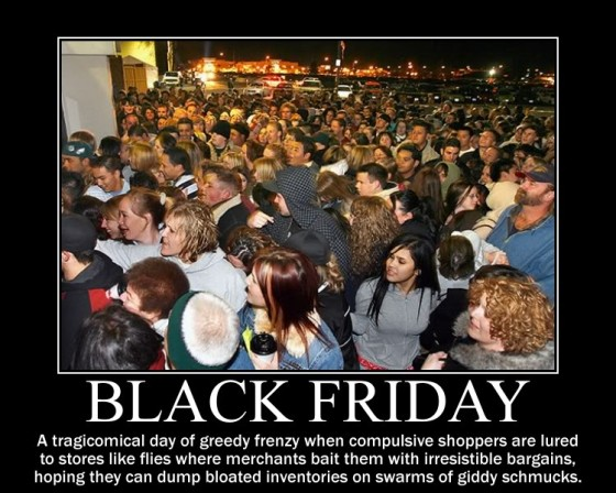 A Better Black Friday (The 21st Day of Thankful)