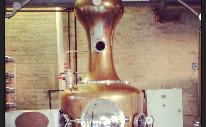 Touristing at Koval Distillery