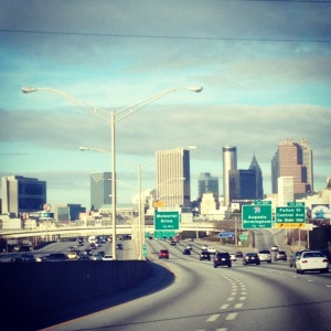 Passing through traffic-free Hotlanta
