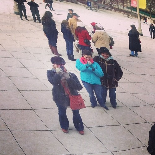 A cold day at the bean
