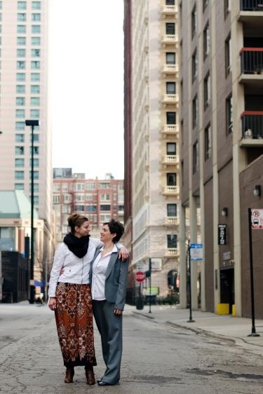 Julie and Lauren