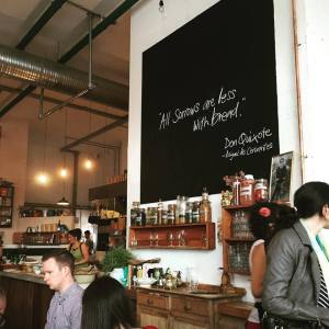 The Fumbally reminds me of a chic Wicker Park slow food place... but more friendly