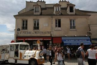 Wandering through Montmartre