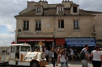 Wandering through Montmartre
