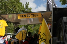This Fan du Tour missed the riders by a couple hours :(