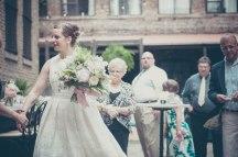 Location: RM Champagne Salon. Bouquet: Brooke Lawler, The Flower Shop in Glencoe. Dress: my mom. Photo: Kelly Dwyer.